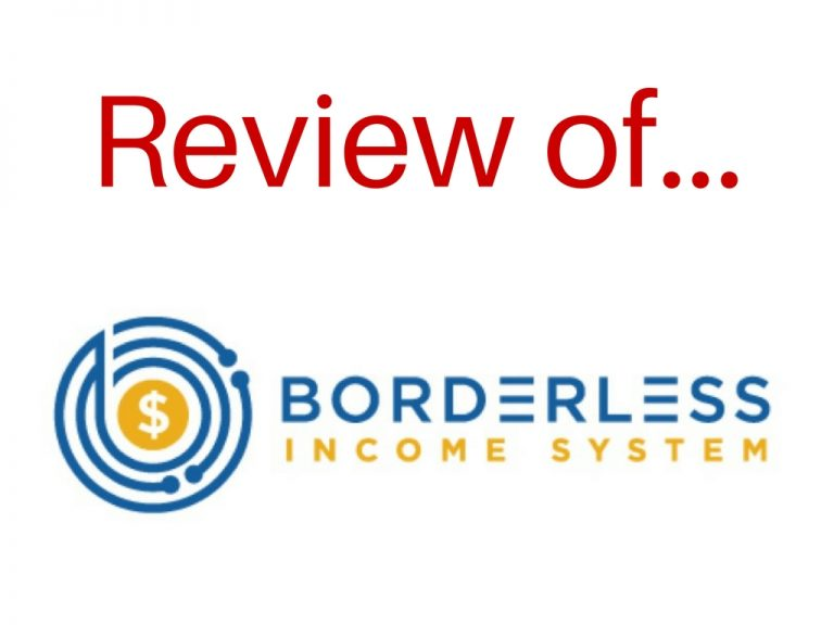 borderless income system review
