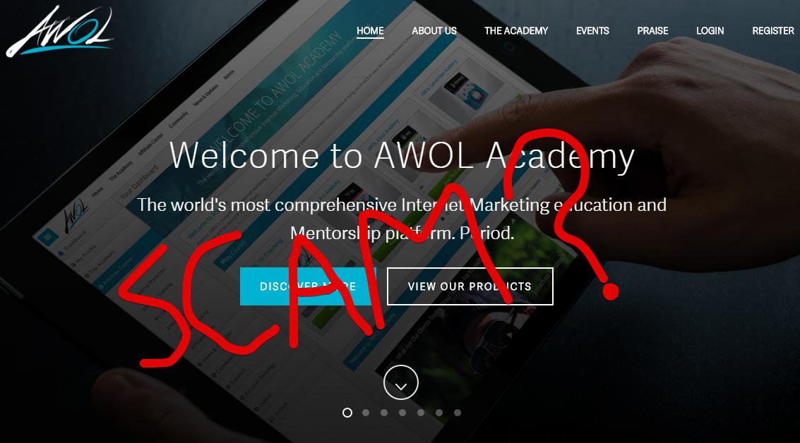 AWOL Academy Scam